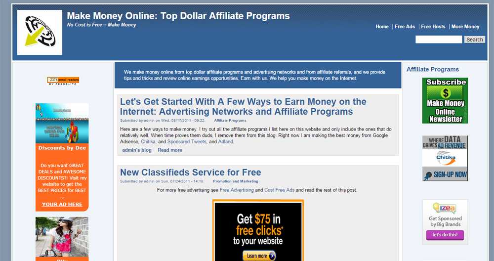 money making affiliate programs